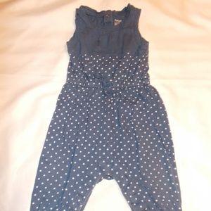baby girls babyGap 6-12 months romper pants